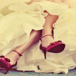 O pé da noiva