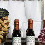 Mini wedding queijos e vinhos