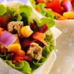 Receita light: wrap vegetariano