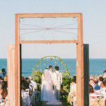 Organic Wedding na Praia do Rosa