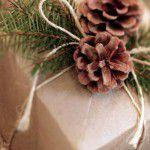 Embalando os presentes de Natal