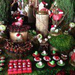 Mesa de doces Natalina
