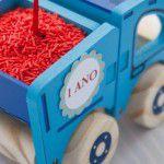 Aniversário de caminhãozinho azul