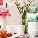Café da manhã elegante