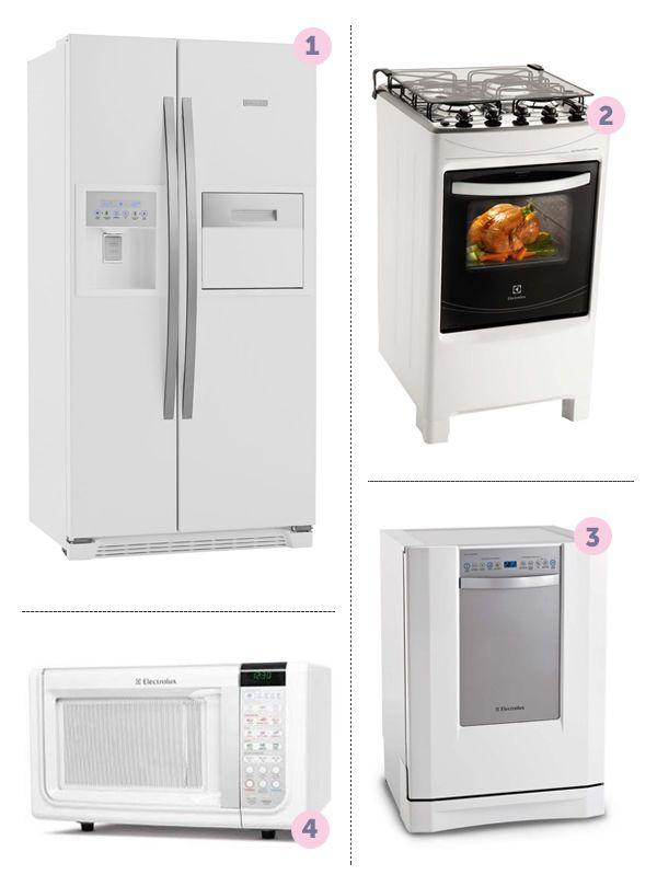 cozinha-classica-pontofrio Na dúvida sobre quais devem ser eletrodomésticos para sua casa nova? Nós listamos para você!