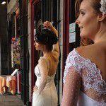 Vestidos de Noiva brasileiros com inspiração europeia