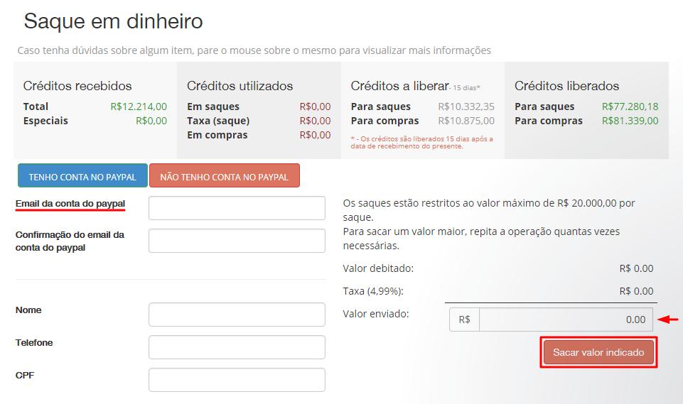 Screenshot-133 Lista de Presentes de Casamento em dinheiro do Casare!