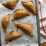 Tortinhas de berinjela