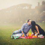 Ensaio pré-wedding com picnic