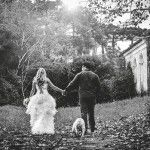 Ensaio pré-wedding nas ruínas