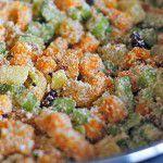 Deliciosa farofa vegetariana