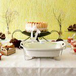 Mesa clássica para aniversário adulto