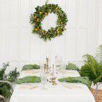 Decore a mesa para receber a família no Natal