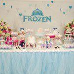 Festa Frozen para as trigêmeas