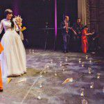 Casamento no palco