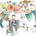 Já pensou em fazer um convite de casamento ilustrado?