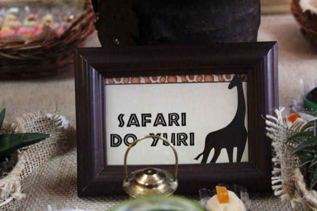 Festa Safari Yuri 2 anos