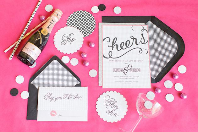 Pink-and-Sparkly-Wedding-Inspiration-Kylee-Yee-Photography-Glimmer-Threads-Bridal-Musings-Wedding-Blog-18-630x420 Chá de Panela Rosa e Preto