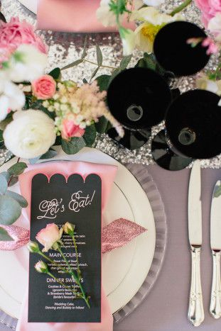Pink-and-Sparkly-Wedding-Inspiration-Kylee-Yee-Photography-Glimmer-Threads-Bridal-Musings-Wedding-Blog-36-311x467 Chá de Panela Rosa e Preto