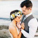 Referências de um casamento na praia