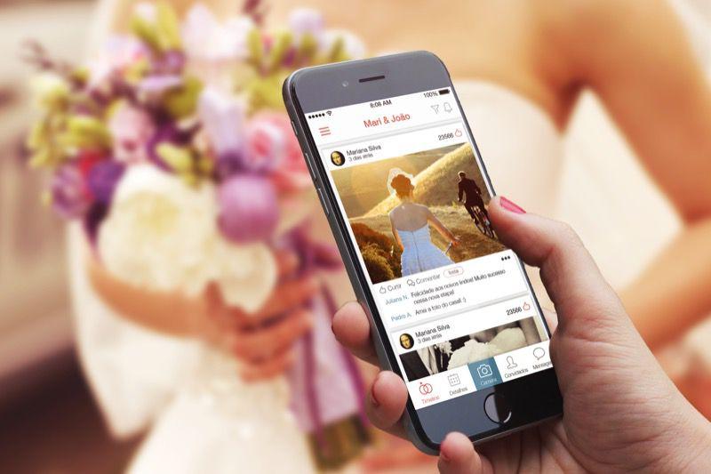 Divulgacao_lejour Já pensou em uma rede social só para seu casamento?