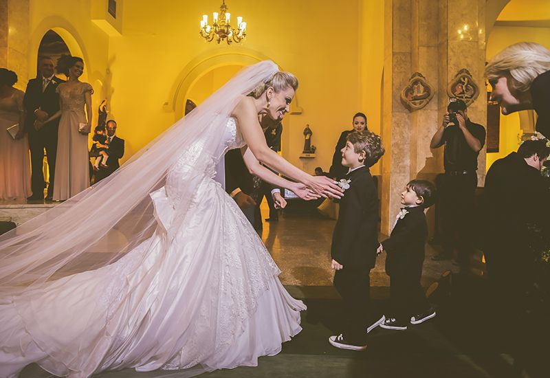 111 O clássico e o moderno em um único casamento!