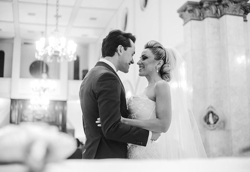 12 O clássico e o moderno em um único casamento!