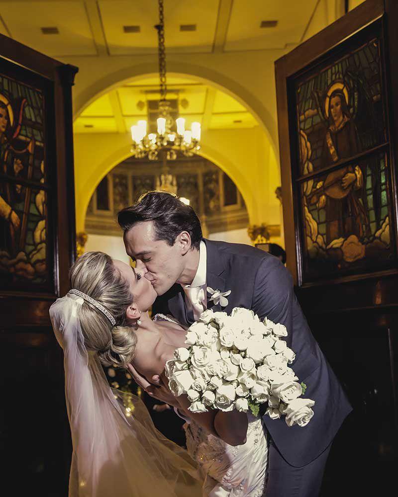 13 O clássico e o moderno em um único casamento!