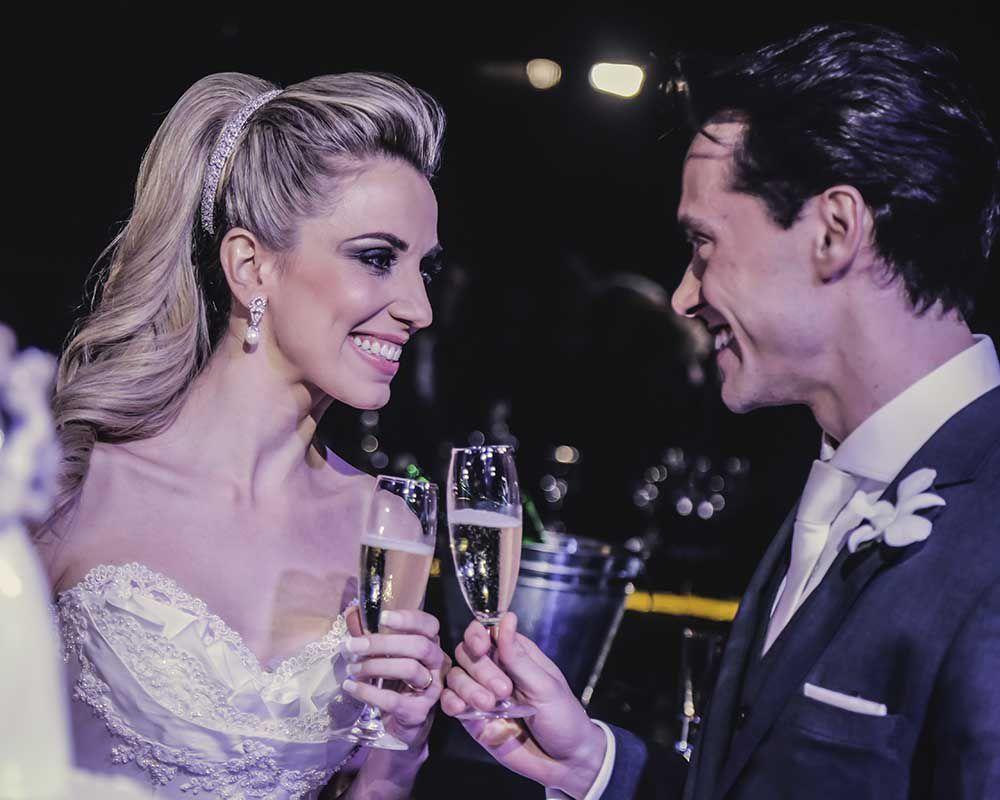 15 O clássico e o moderno em um único casamento!