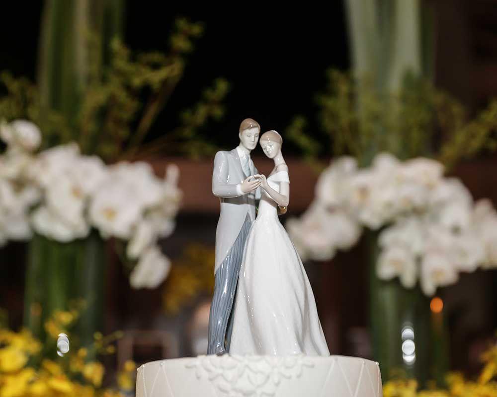 26 O clássico e o moderno em um único casamento!