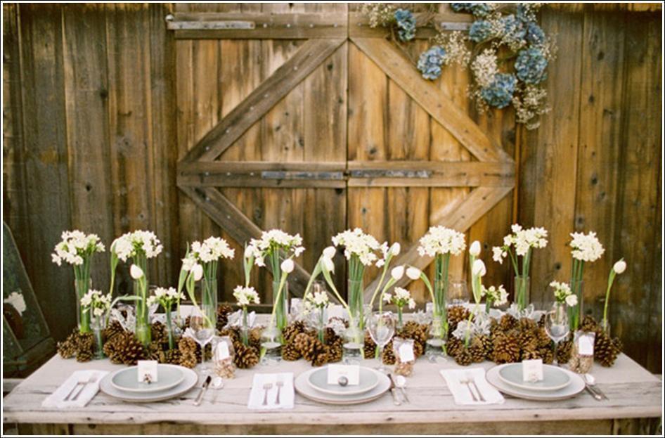 30 Inspiração: mini wedding no celeiro!