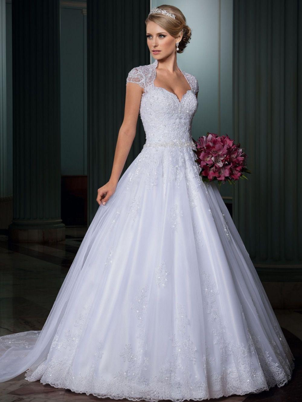 Vestido-de-noiva-Vestido-de-casamento-Vestido-traseira-aberta-sexy-Vestido-de-casamento-cauda-destacável-Vestido