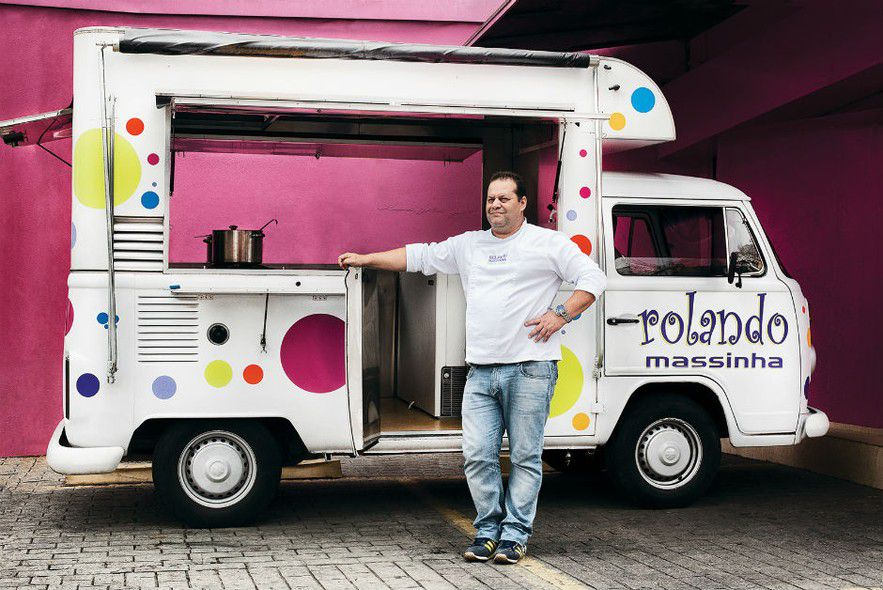 food4 A moda do Food Truck no casamento
