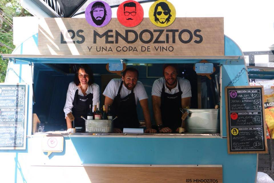 los A moda do Food Truck no casamento