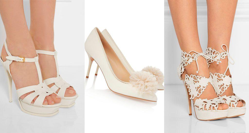 Sapato-01 Inspiração: sapatos de salto para noiva