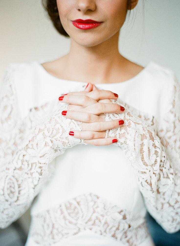 e9158e4c00daa006545f23dace83744f Inspiração: unhas para casamento