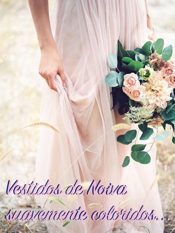 0bfca5f01b4c706e8a931e9d613ac312 Vestidos de Noiva suavemente coloridos