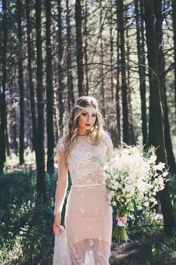 3c46e9a40f277418975233fbbcaa9a16 Vestidos de Noiva suavemente coloridos