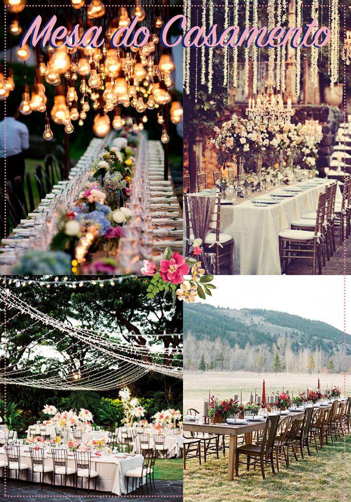 mesas Mesa do Casamento | Decor do grande dia