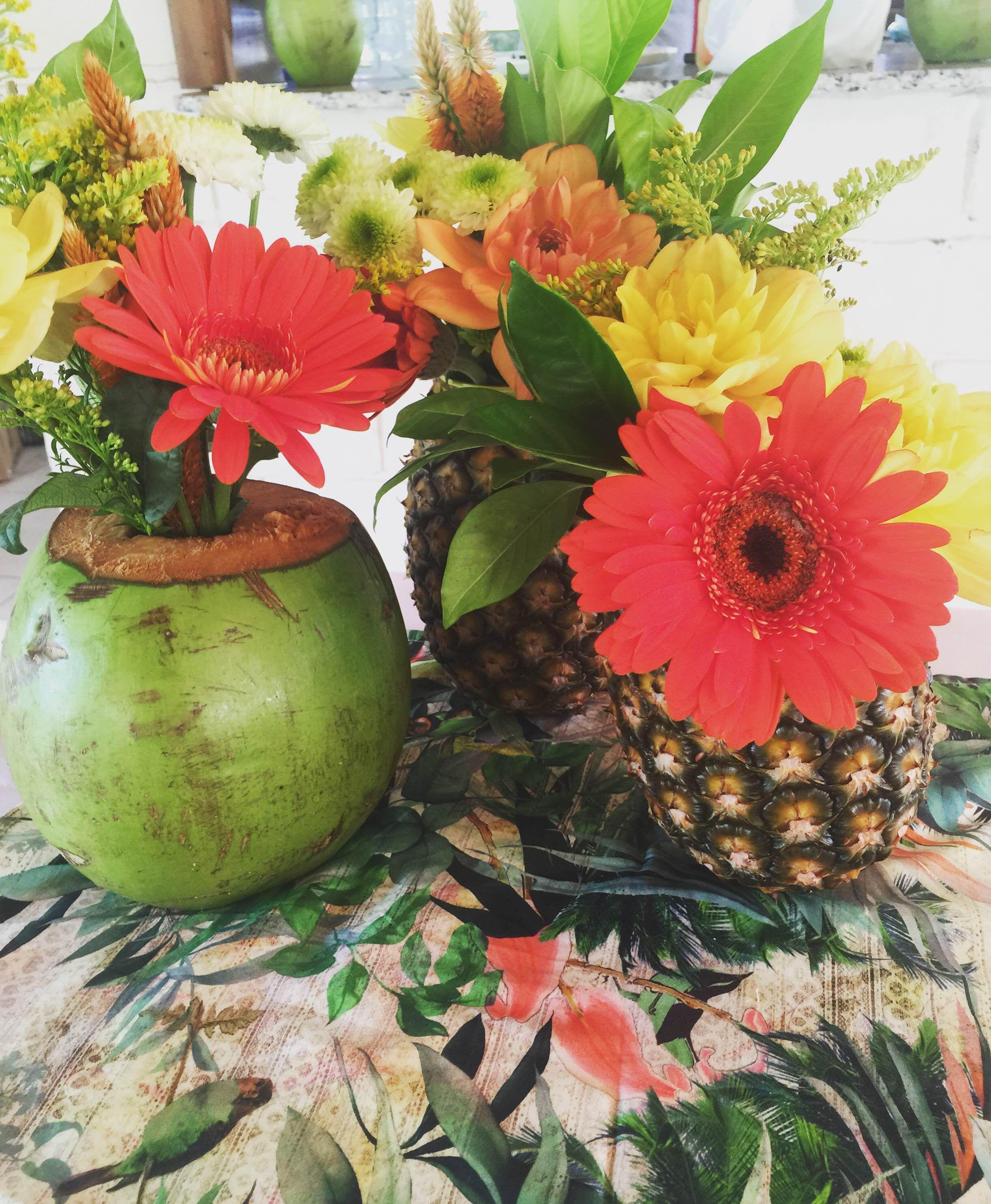 IMG_9363 Arranjo com abacaxi | DIY