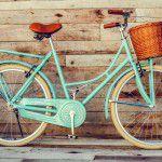 Mamãe Atleta: Bicicleta vintage com cesto