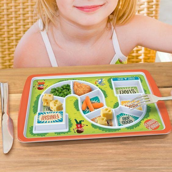 prato Alimentando os pequenos: dicas para facilitar a hora das refeições