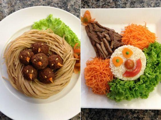 pratos Alimentando os pequenos: dicas para facilitar a hora das refeições