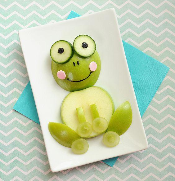 sapo-de-maça Alimentando os pequenos: dicas para facilitar a hora das refeições