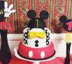 Festa de aniversário Mickey: 1 ano do Levi