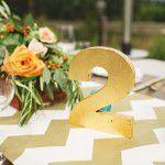 Estampas geométricas no casamento, pode? SIM!