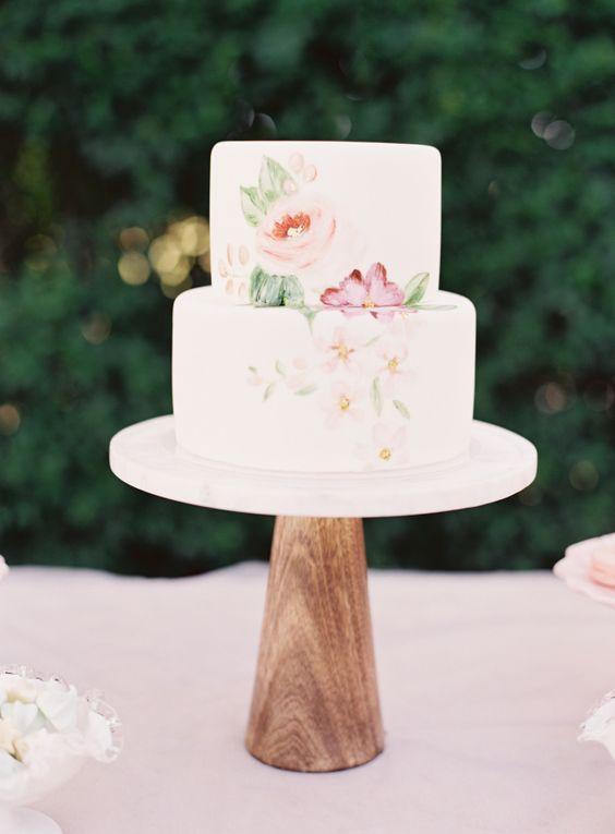 Caroline-Tran Inspiração: bolos de casamento para sair do comum