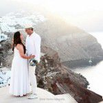Casamento na Grécia: Fernanda e Rodrigo