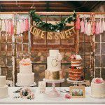 Inspiração: bolos de casamento para sair do comum