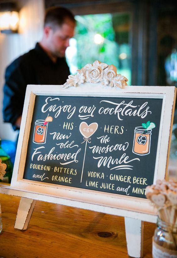 Dana-Cubbage-Weddings Drinks e bares: tendências em bebidas para casamentos